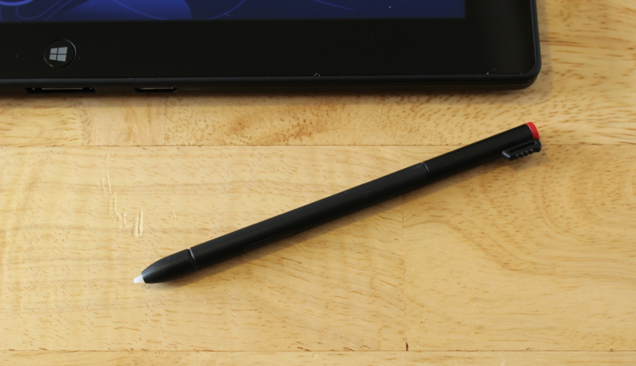 The Tablet 2's digitizer pen in all its glory.