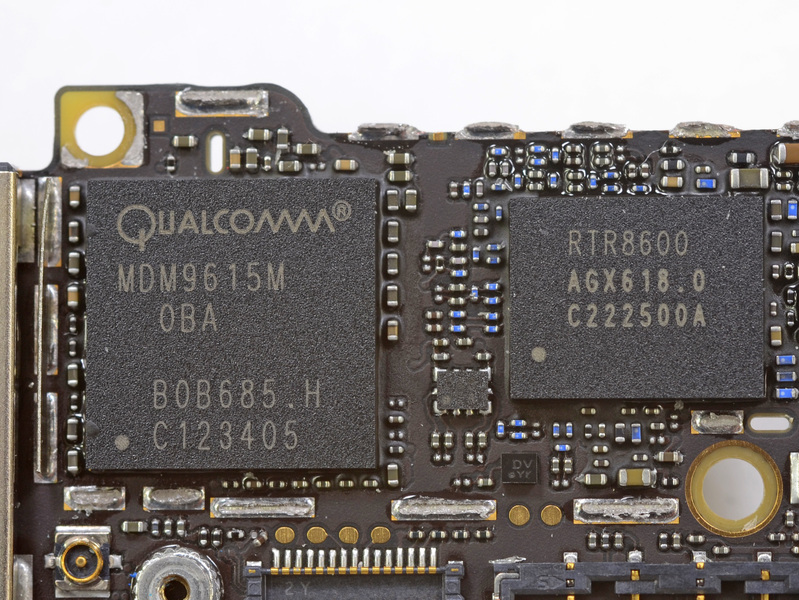 Qualcomm's modems are key to its success. Here is the standalone MDM9615M modem that enables the iPhone 5's 4G connectivity.