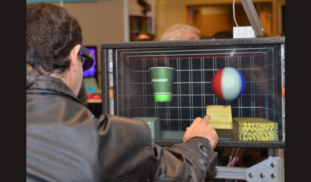 Microsoft shows off its 3D Haptic Feedback at TechFest.