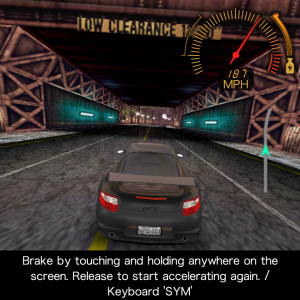 <em>Need for Speed Undercover</em> on the Q10