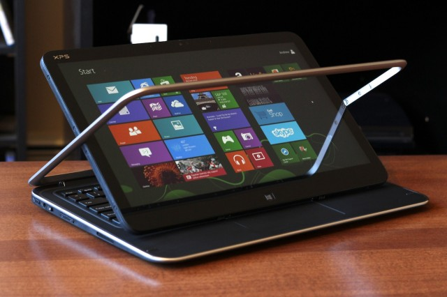 The best touch-enabled Ultrabooks (like the Dell XPS 12 pictured here) include touch capability without getting in the way of the standard PC functions.