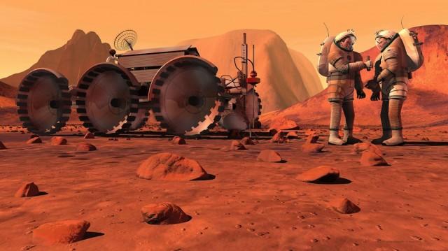man on planet mars - photo #28