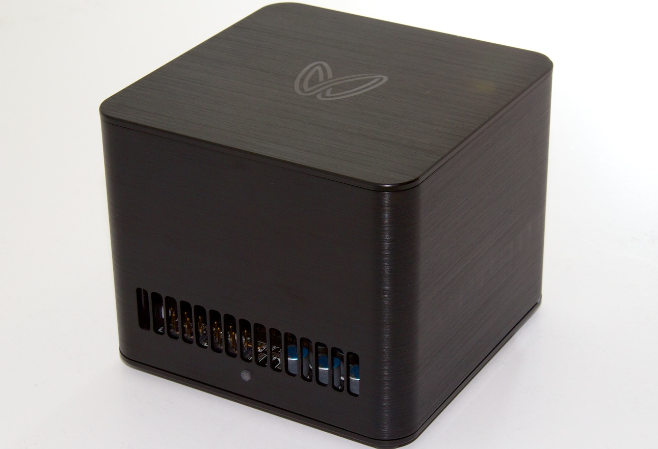 The Butterfly Labs Bitcoin Miner.
