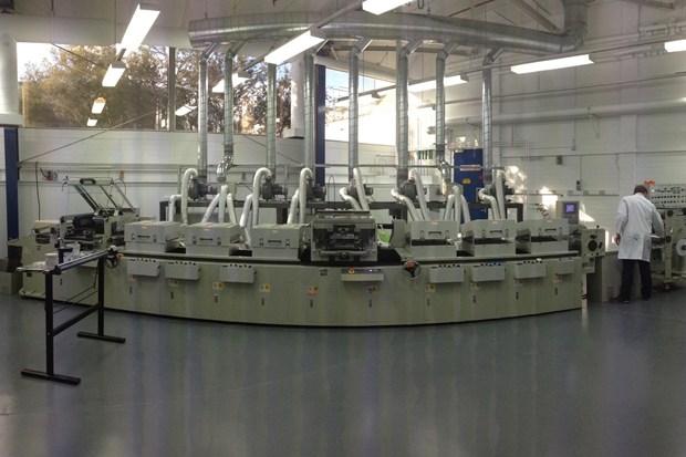 The solar cell printer