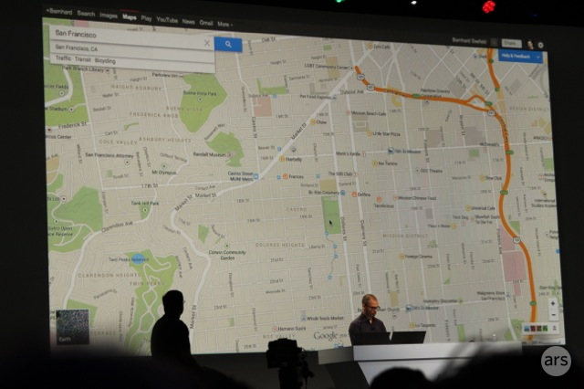 Google Maps adds better directions, ...