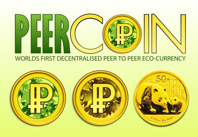 PPCoin logo concepts.