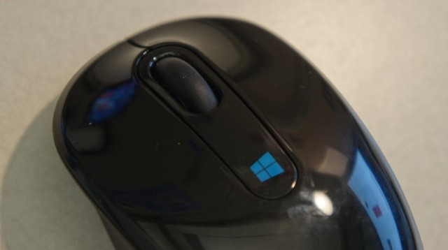 The simpler Sculpt Mobile Mouse.