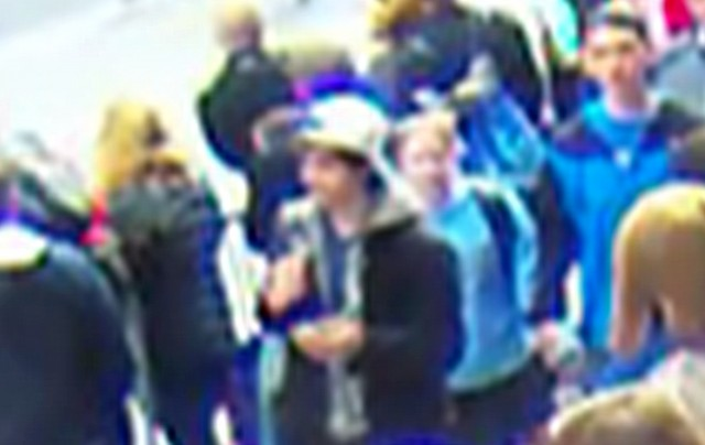 Another early image released by the FBI. The low resolution of this image would have made a false negative—a total miss in the search—more likely, according to experts.