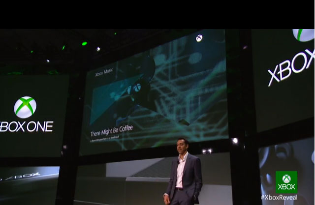 A demo showing the Xbox One swapping seamlessly between types of content.