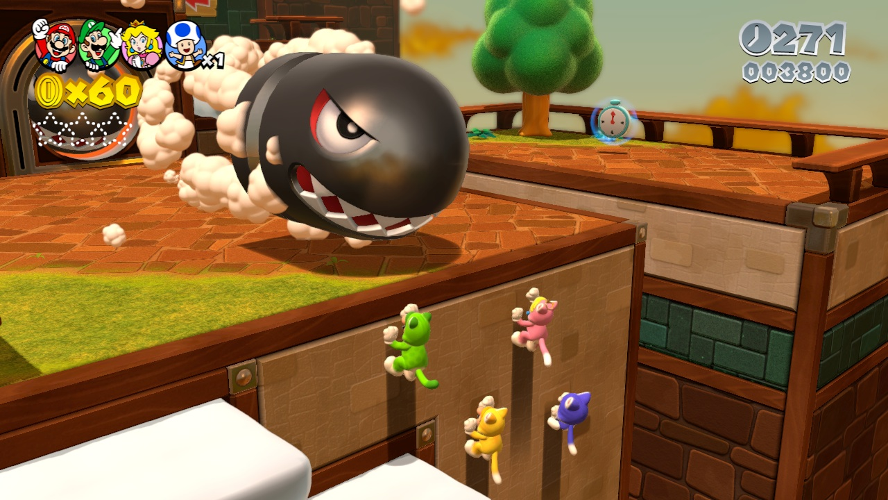A new power-up will change you (and up to three of your friends) into wall-climbing cats.