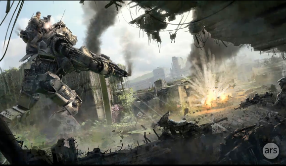 <em>Titanfall</em> got a trailer and very distant release date.