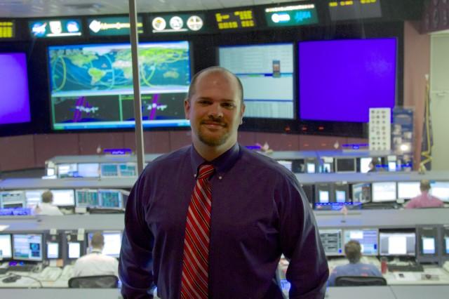 Josh Parris, ISS Flight Controller.