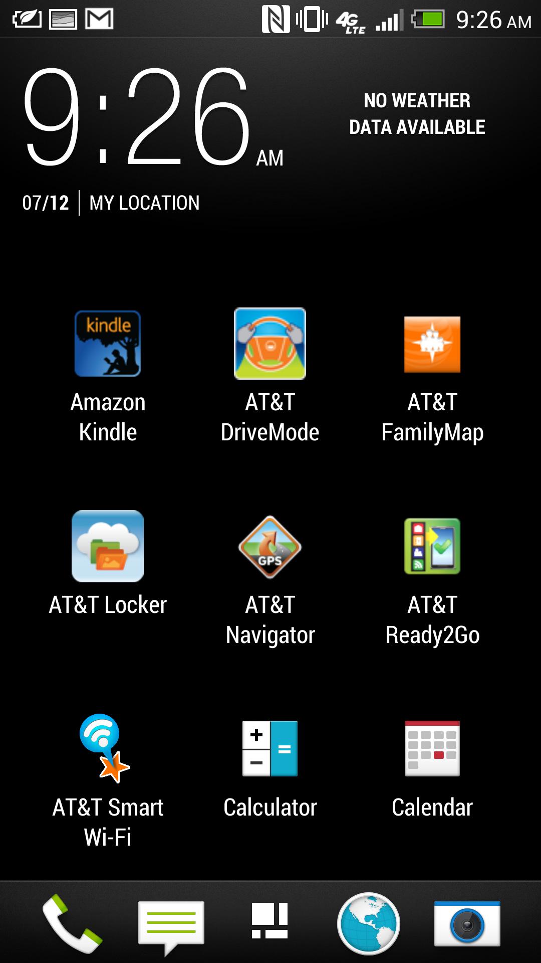 HTC's Sense 5 interface overlay.