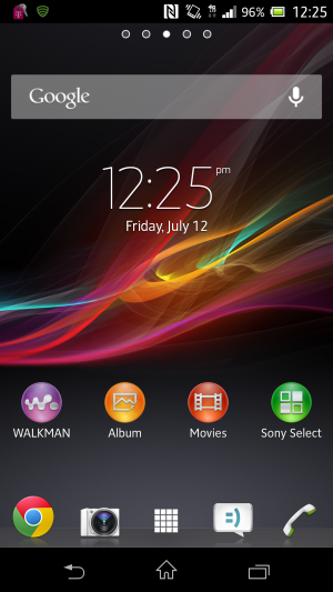 Sony's interface doesn't have an official name, but it can be referred to as the Xperia interface.