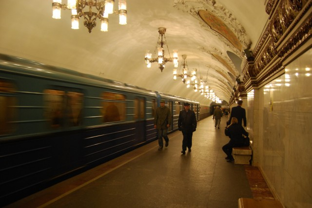 Moscow Metro Says New Tracking System Is To Find Stolen