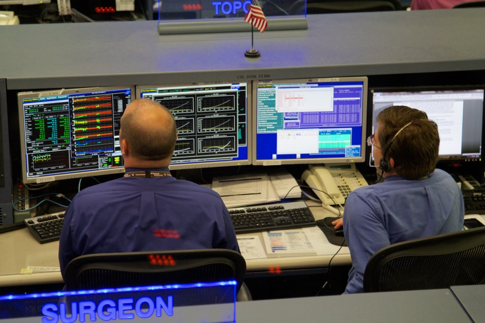 Gallery: The International Space Station flight control ...