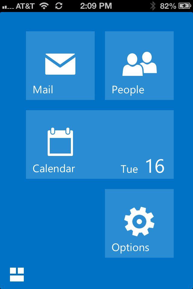 Bild zu «Microsoft veröffentlicht OWA-App fürs iPhone»