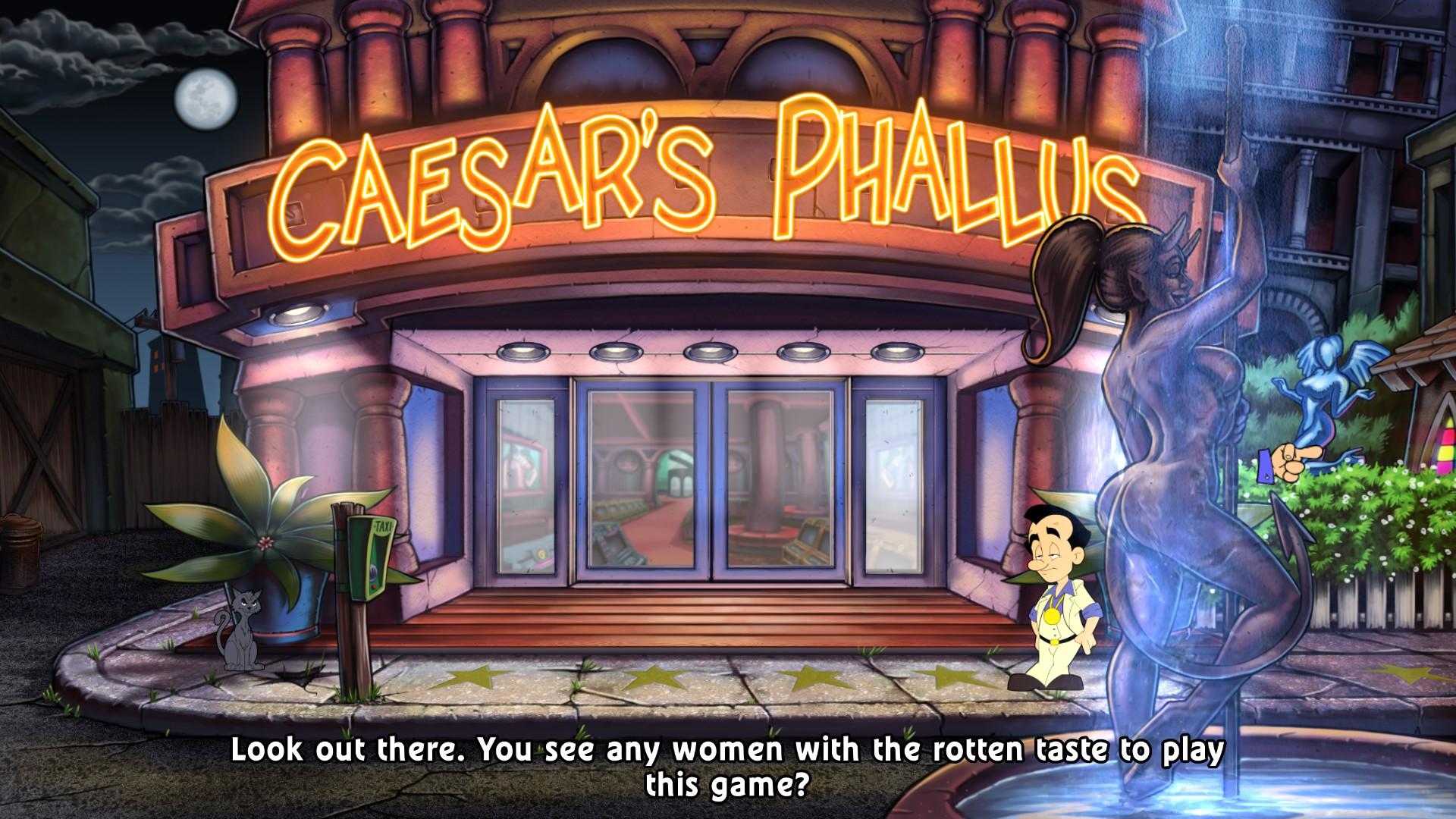 """Get it... """"phallus!"""" Like a penis!"""