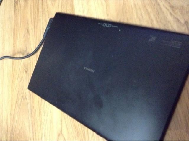 The rumored Nokia RT tablet prototype.
