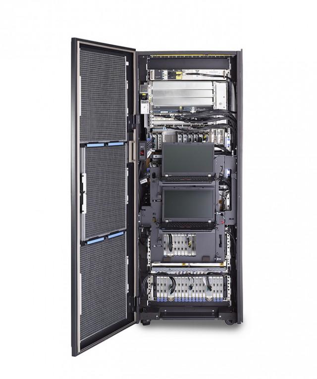 A peek inside the zB12's rack.