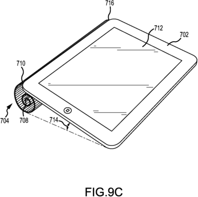 More intriguingly, it could be used to replace Apple's current iPad Smart Covers.