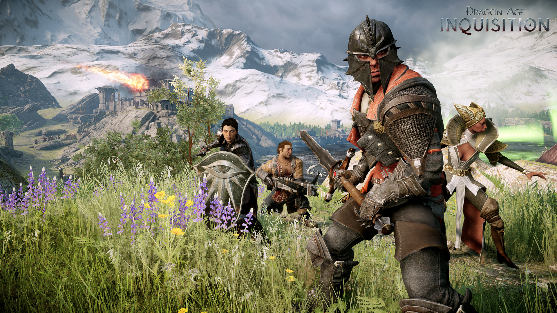 Dragon Age Inquisition Characters Leak How Dragon Age Inquisition