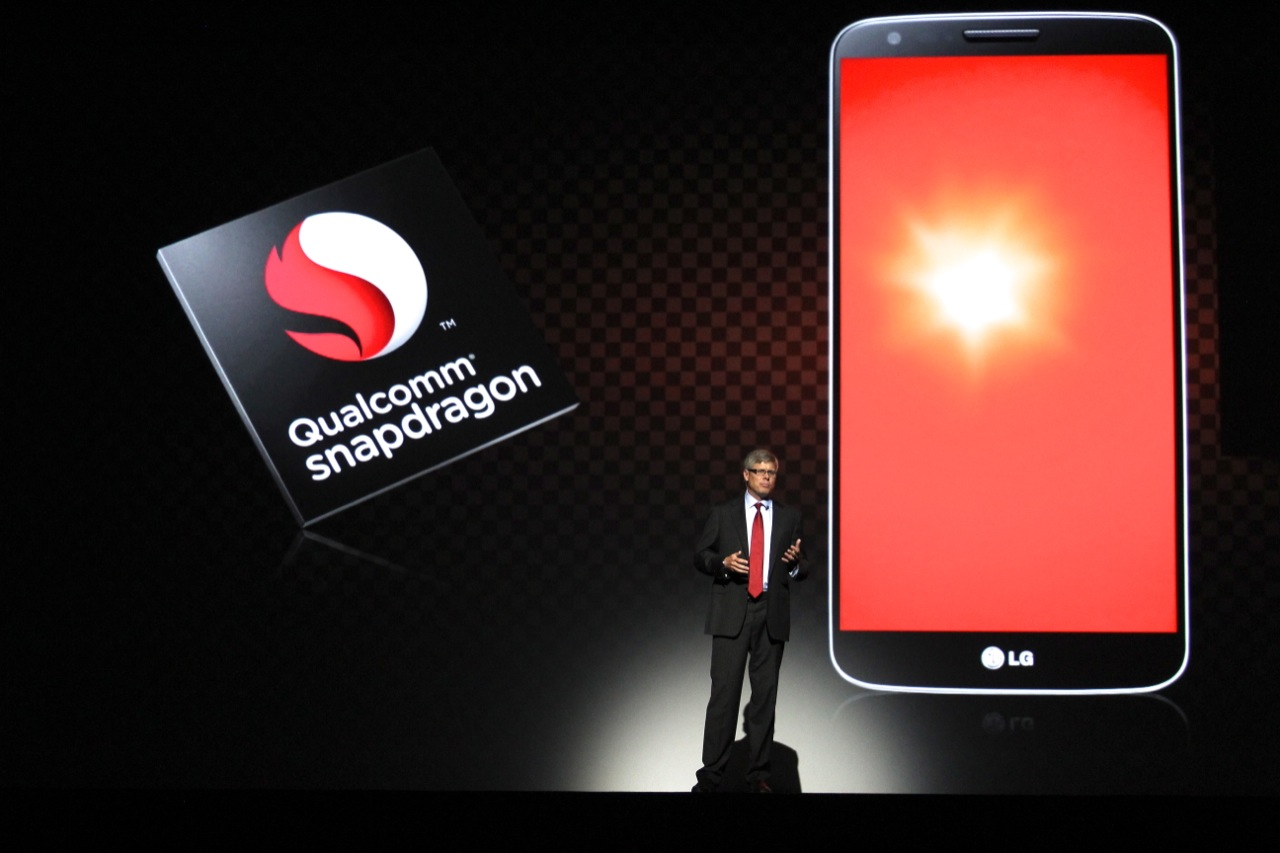 Qualcomm's Steve Mollenkopf talks up the Snapdragon 800 in the G2.