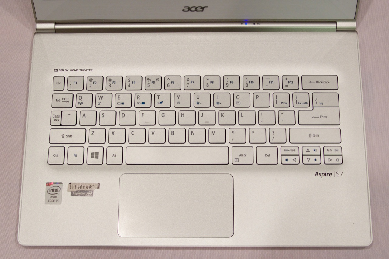 "The new S7 lacks the hokey ""Professionally Tuned"" label that the old one had above the keyboard. This implies that Acer either rethought the label, or it has fired its professional tuners."