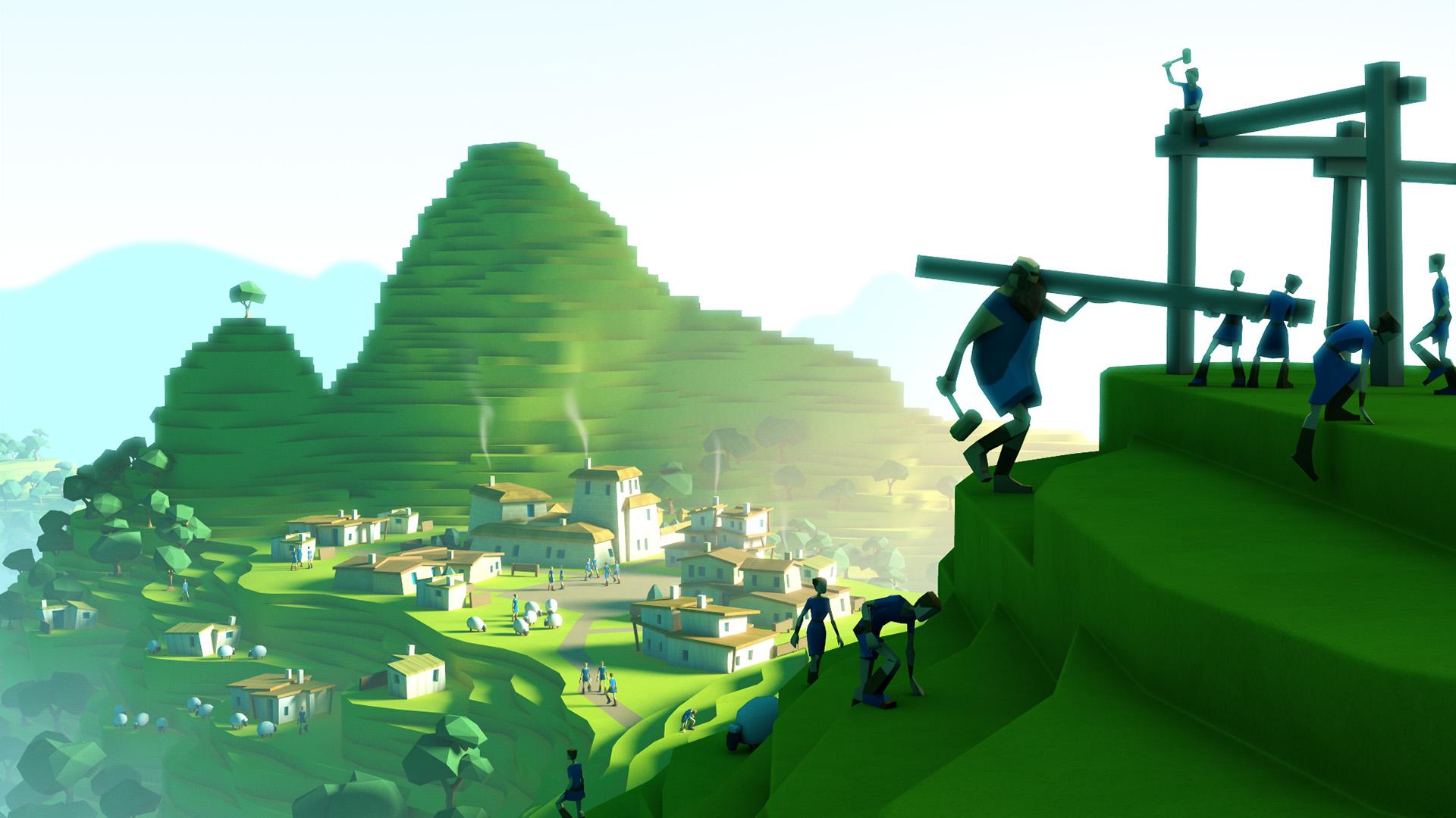 Machu Picchu before...