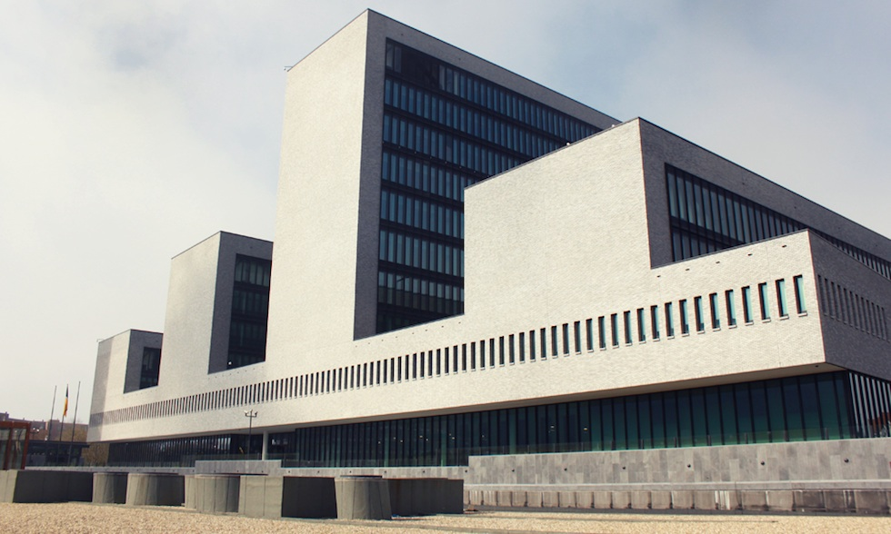 Europol headquarters in the Netherlands.