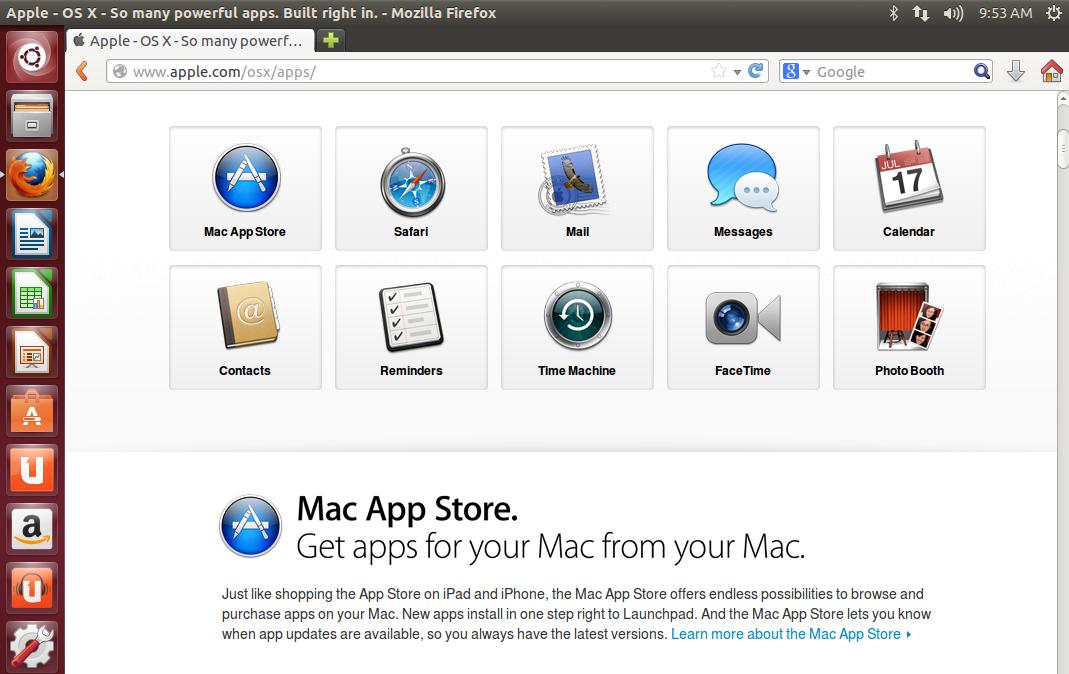 Bild zu «OS X Apps auf Linux ausführen»
