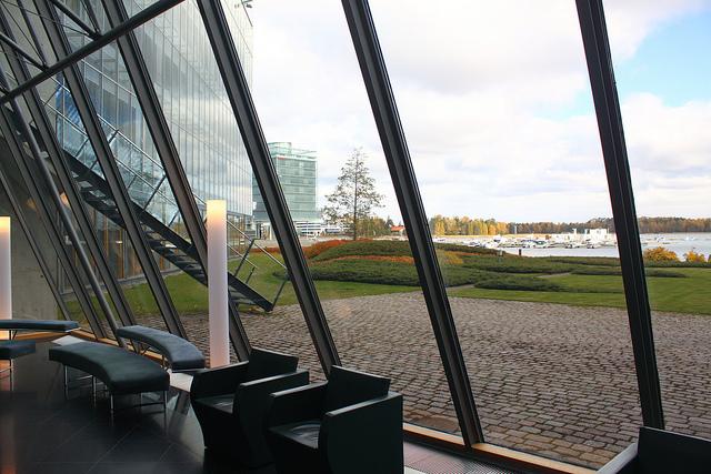 Inside the Nokia Headquarters in Espoo.
