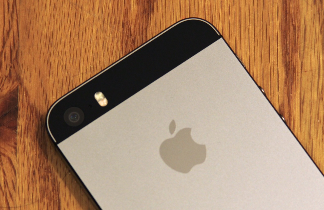 The iPhone 5S' improved camera and dual-LED flash.