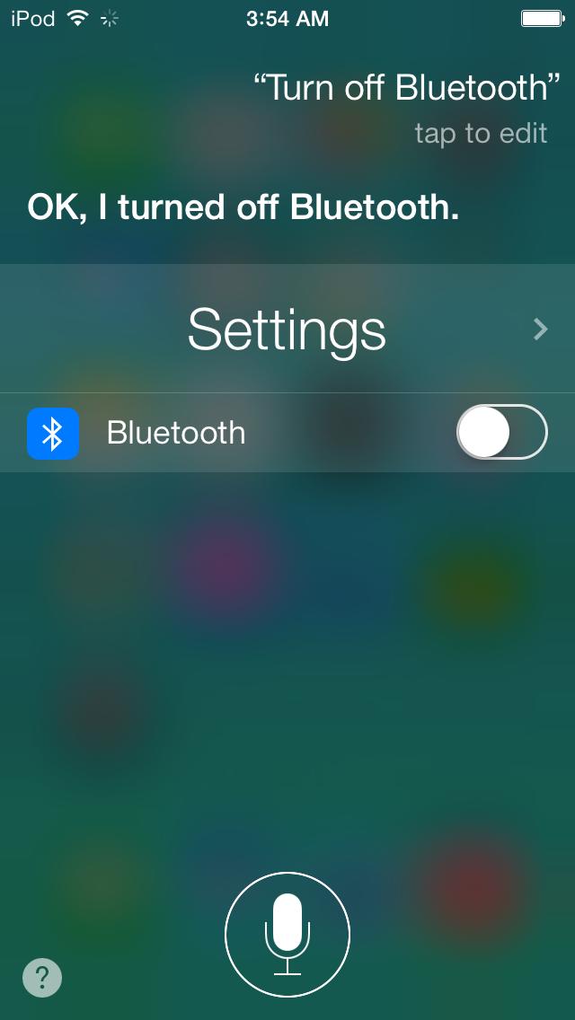 Siri can now toggle a few settings.