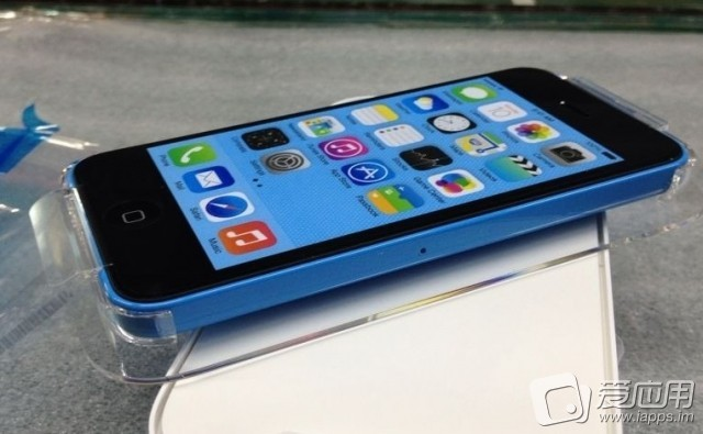An (alleged) photo of the (alleged) iPhone 5C.