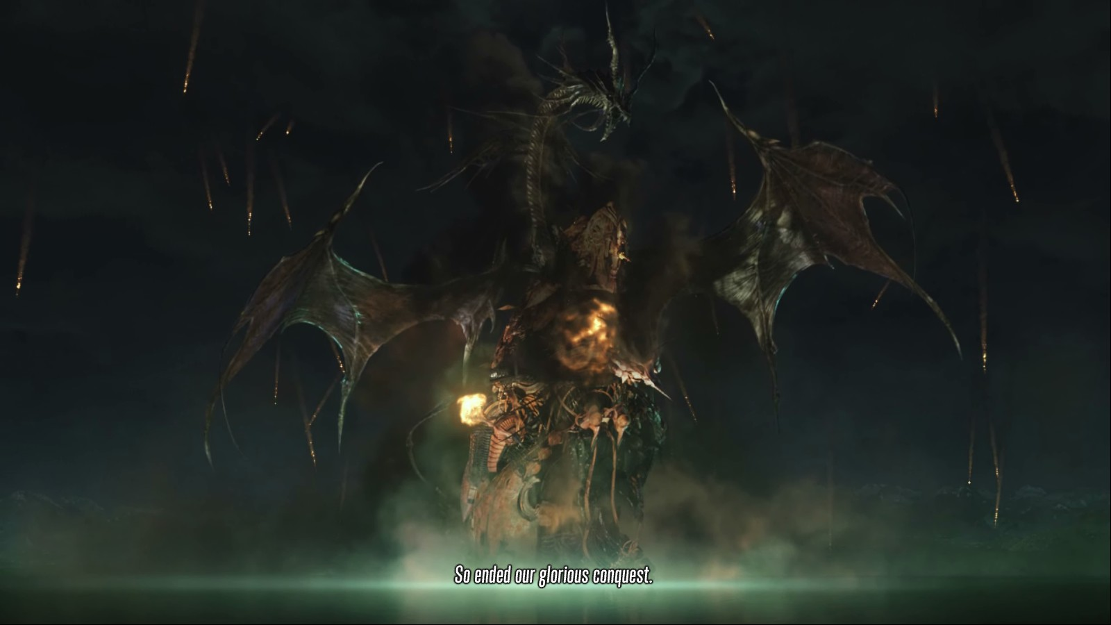 It wouldn't be a <i>Final Fantasy</i> game without ridiculously good-looking, vaguely nonsensical cut scenes.
