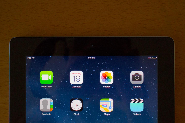 iPad 2 iOS 7
