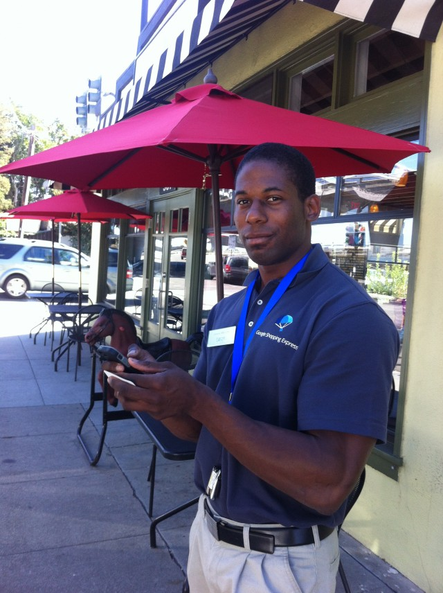 Laron, my first delivery man.