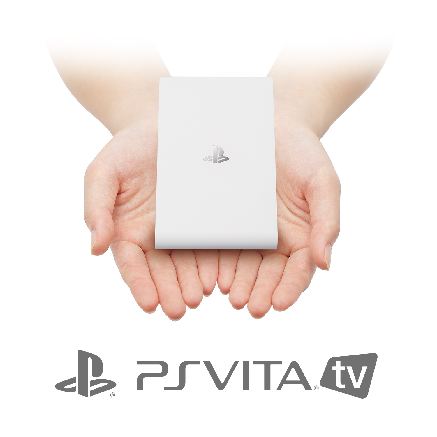 You will hold the Vita TV like this exactly once, then it will sit largely unused in your entertainment center.