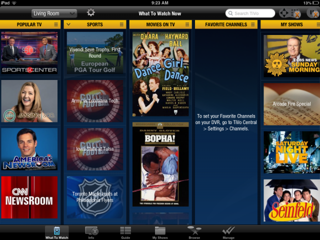 how to watch recorded shows on tivo