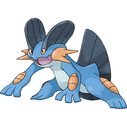 Beginning in Ruby and Sapphire, the monster designs started to get a little stranger. It's not clear exactly what this guy is supposed to be.