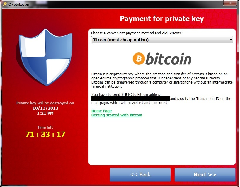 You're infected—if you want to see your data again, pay us $300 in <b>...</b>