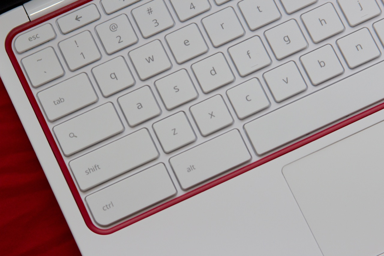 The Chromebook 11's keyboard is actually comfortable to type on.