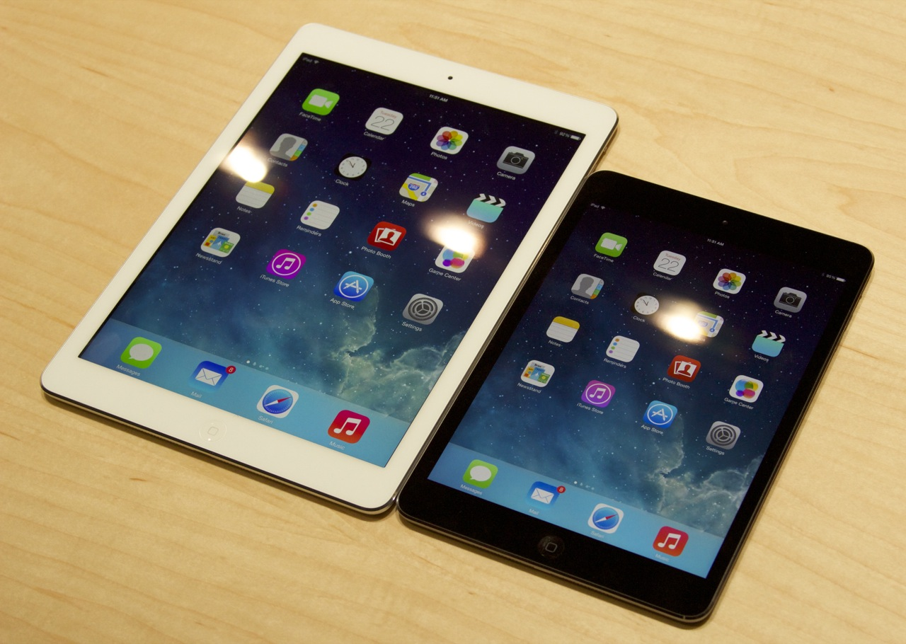 Hands-on with the new iPad Air and Retina iPad mini (update: video ...