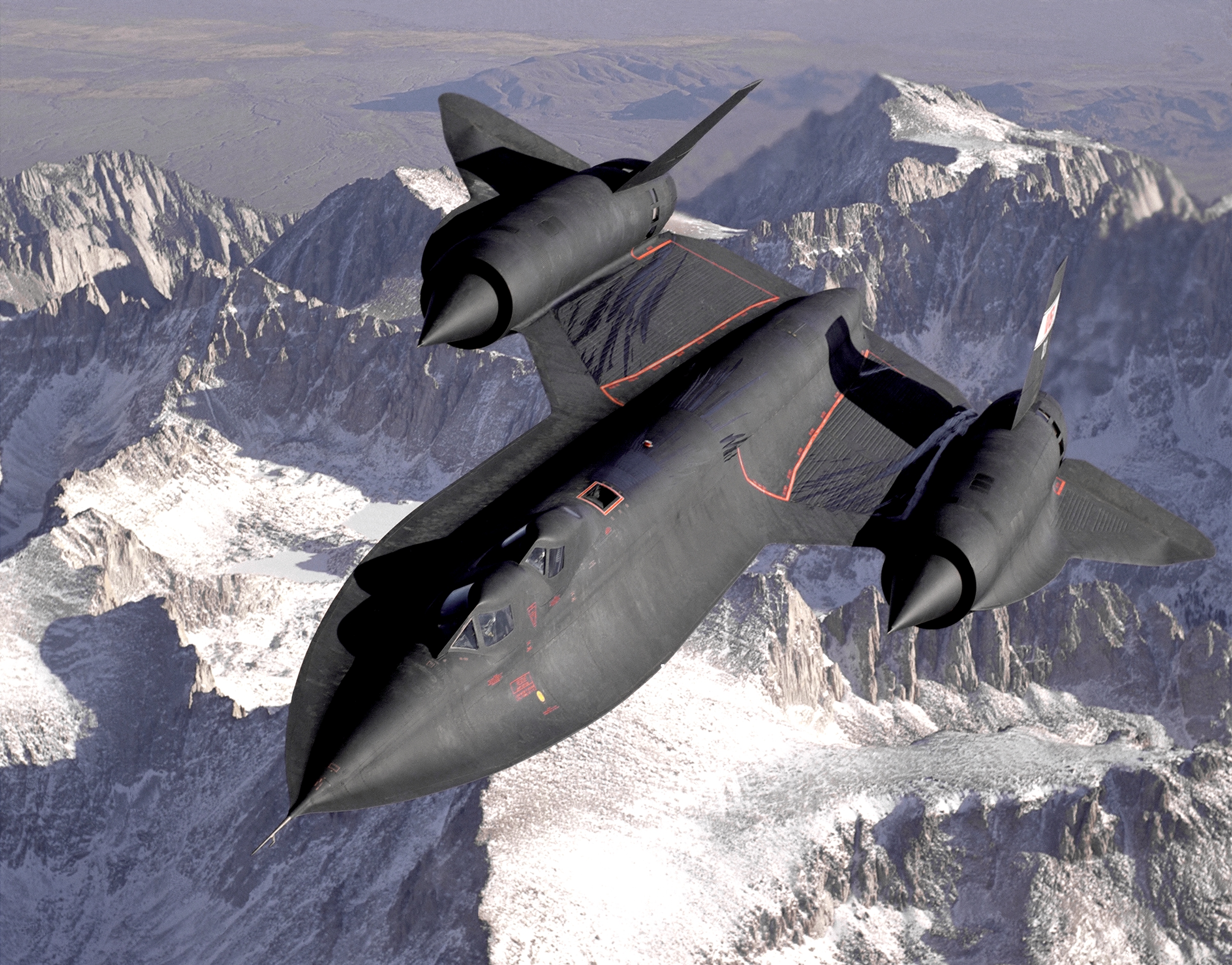Lockheed's SR-71B trainer, the plane that taught a generation of spy plane pilots to fly faster than a speeding bullet.