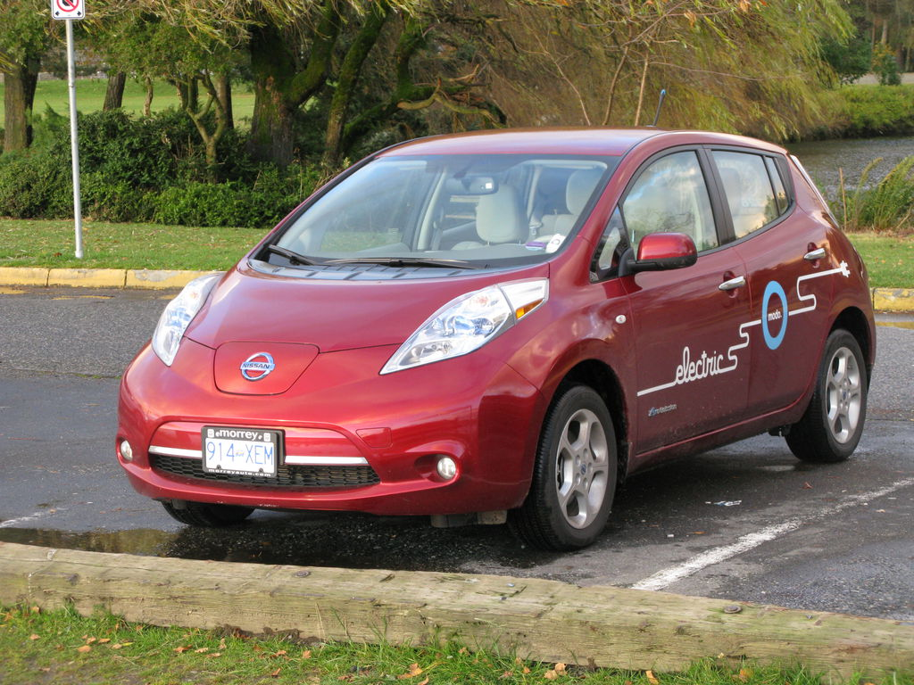 The almost unbelievably ugly Nissan LeafHURRRRRRRRRRRRRK—ugh, I'm sorry, I just threw up all over my keyboard.