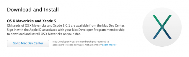 OS X 10.9 will soon be crashing down upon us.