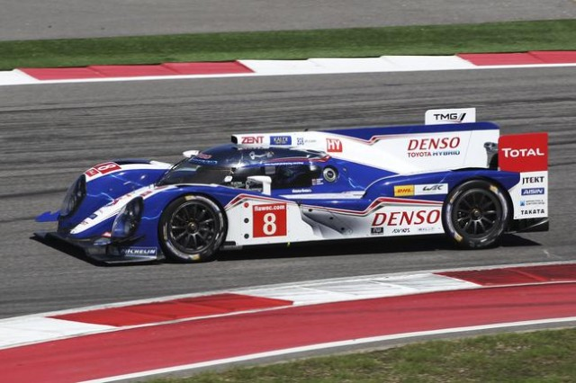 The Toyota TS030.