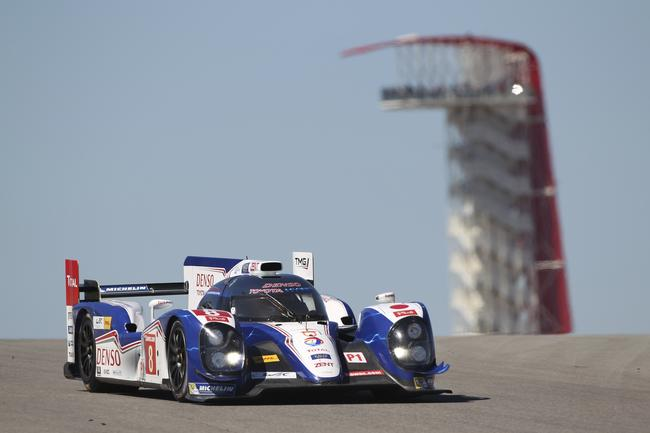 The TS030 at the Circuit of the Americas 2013.
