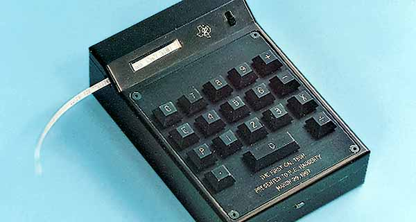 The 1967 Cal Tech calculator from Texas Instruments.